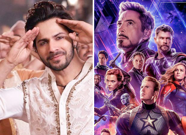 Varun Dhawan has a 'FIRST CLASS' compliment for this Kalank and Avengers: Endgame crossover!
