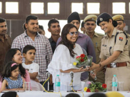 Amid filming for Mardaani 2, Rani Mukerji meets the police force at Kota!