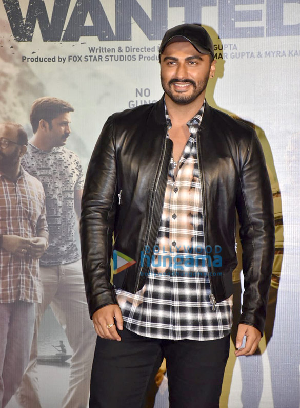 Arjun Kapoor and Rajkumar Gupta grace the trailer launch of the film 'India's Most Wanted'1 (2)