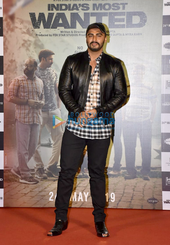 Arjun Kapoor and Rajkumar Gupta grace the trailer launch of the film 'India's Most Wanted'1 (3)