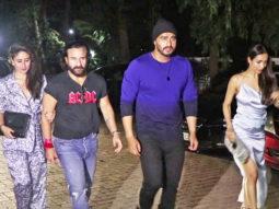 Arjun-Malaika and Saif-Kareena SPOTTED at Mallika Bhatt's Birthday Bash