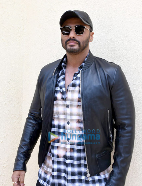 Arjun kapoor and Rajkumar Gupta grace the trailer launch of the film 'India's Most Wanted'