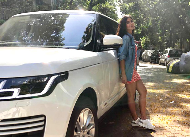 Beauty and her Beast Katrina Kaif strikes a pose with her brand new Range Rover