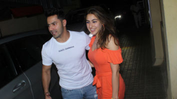 Coolie No. 1 pair Varun Dhawan and Sara Ali Khan finally come together and the pair looks lit