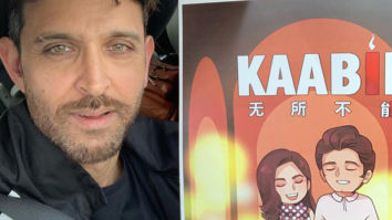 EXCLUSIVE! Hrithik Roshan lands in China and receives a warm welcome by his fans