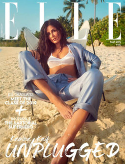 Katrina Kaif on the cover of Elle, May 2019