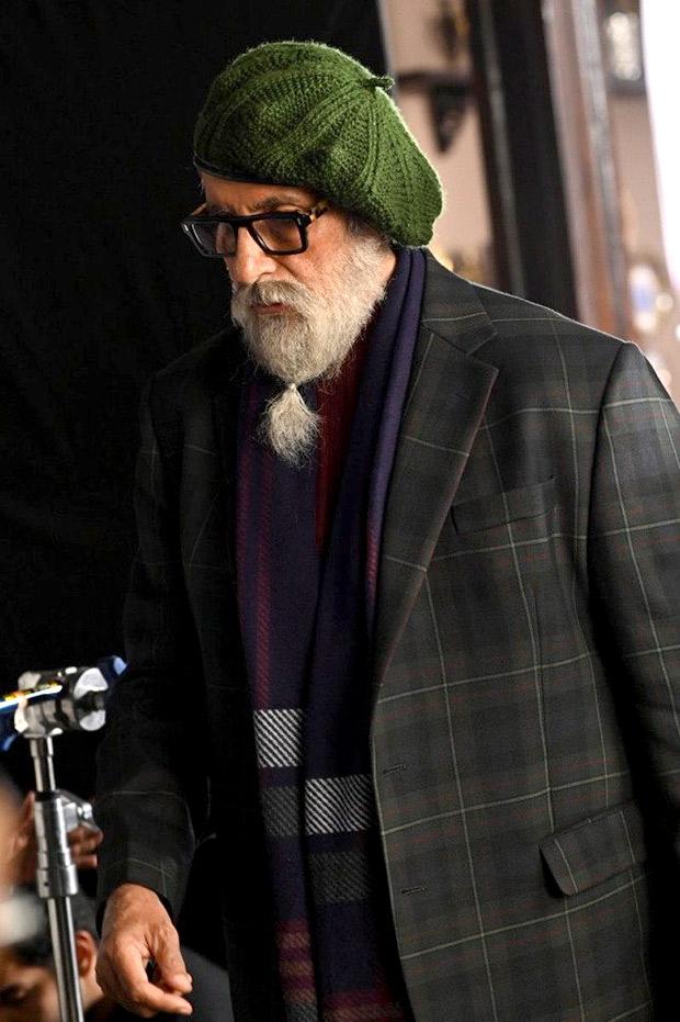 FIRST LOOK: Amitabh Bachchan looks intriguing as he kickstarts his next thriller Chehre