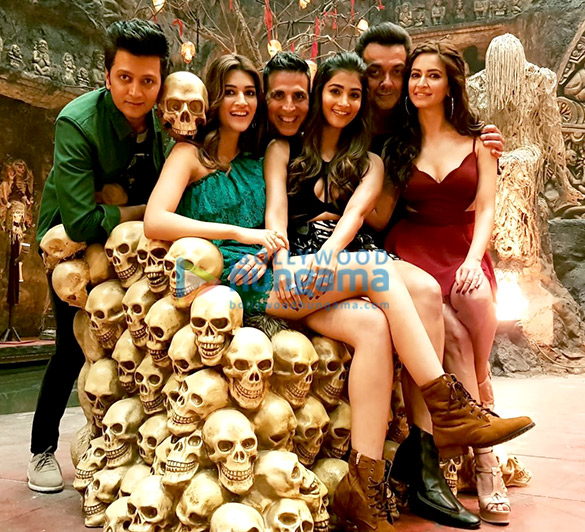 On The Sets from the movie Housefull 4