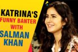 Katrina Kaif's QUIRKIEST Rapid Fire Banter With Salman Khan Turning Point in Career