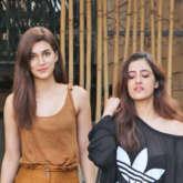 Kriti Sanon SPOTTED with her sister at Aram Nagar Versova