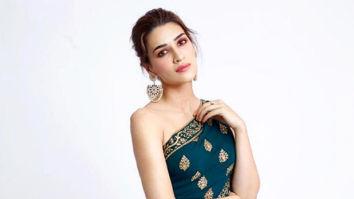 Kriti Sanon looks aesthetically radiant in this Monisha Jaising new-age saree