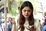 MUST WATCH Junglee actress Asha Bhat enjoying Street food of Mumbai