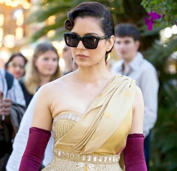 """Nationalism is something very spiritual in nature"" - Kangana Ranaut at Cannes 2019"