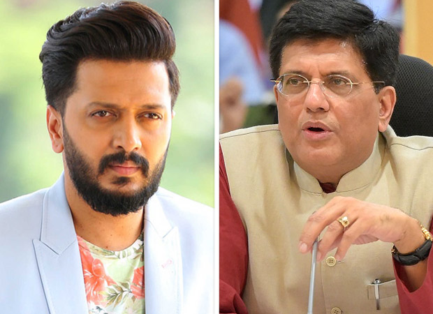 Riteish Deshmukh HITS BACK at Minister Piyush Goyal for throwing allegations towards his father, former CM, late Vilasrao Deshmukh during the 26/11 attacks
