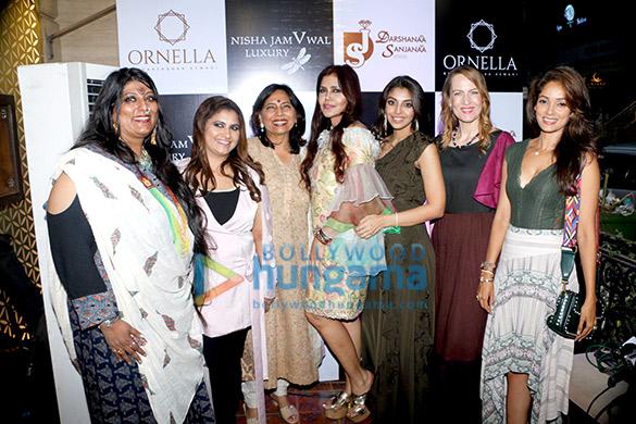 Nisha JamVwal hosts unveiling of Darshanaa Aswani's Ornella