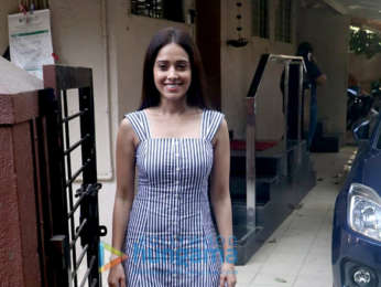Nushrat Bharucha snapped at Matrix office in Bandra