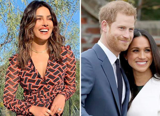 Priyanka Chopra CONGRATULATES new parents Meghan Markle and Prince Harry as they welcome their baby boy!