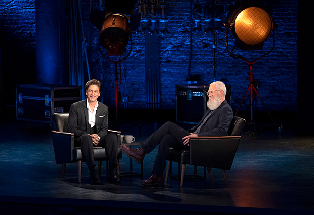 PHOTO: Shah Rukh Khan honoured to share his story with David Letterman