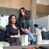 PHOTOS: Gauri Khan gets a visit from her favourite actress Madhuri Dixit