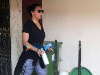 Photos: Malaika Arora, Janhvi Kapoor and Lara Dutta snapped at the gym