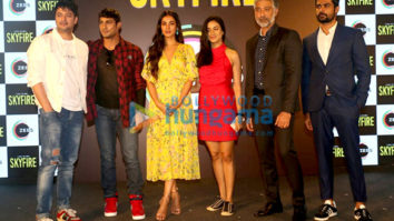 Prateik Babbar, Sonal Chauhan and others grace the launch of Zee5's Original Skyfire in Mumbai
