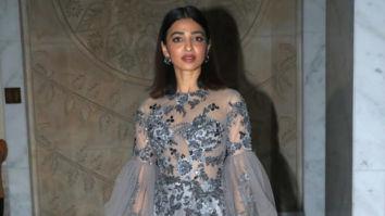Radhika Apte stuns in a Manish Malhotra gown for Cosmopolitan Beauty Awards' night