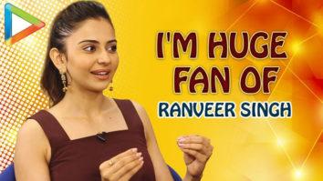 """Rakul Preet Singh """"If He was Single, I'd Marry Ranveer Singh, I'm His Huge FAN"""" Rapid Fire"""