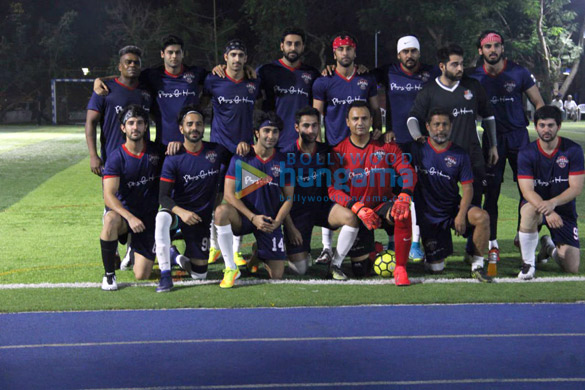 Ranbir Kapoor, Abhishek Bachchan, Ahan Shetty and others snapped during soccer match1 (2)