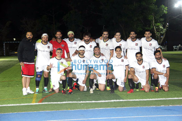 Ranbir Kapoor, Abhishek Bachchan, Ahan Shetty and others snapped during soccer match1 (3)