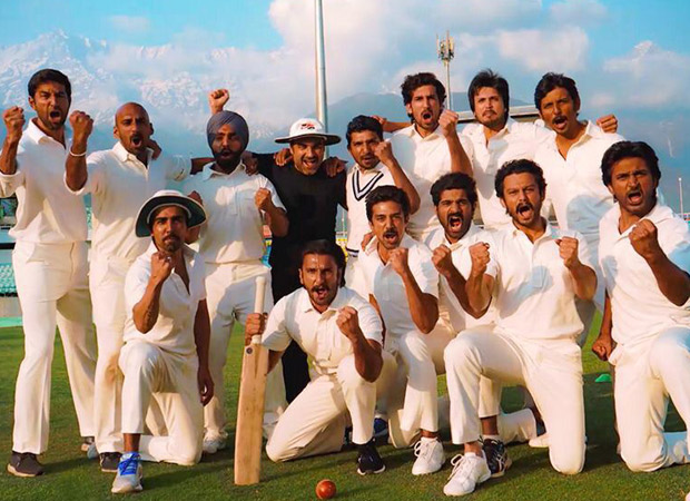 Ranveer Singh and his Team India get ready to meet the other '83 World Cup teams for a final training schedule