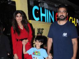 SPOTTED Shilpa Shetty with family at Chin Chin Chu restaurant, Juhu