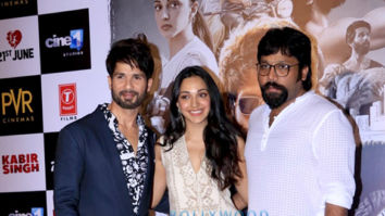 Shahid Kapoor, Kiara Advani, Sandeep Reddy Vanga grace the trailer launch of Kabir Singh