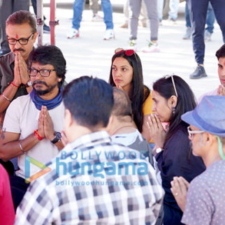 On The Sets from the movie Shershaah