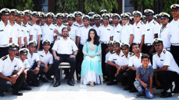 Shraddha Kapoor shares some quality time with budding Navy officers during Saaho shoot