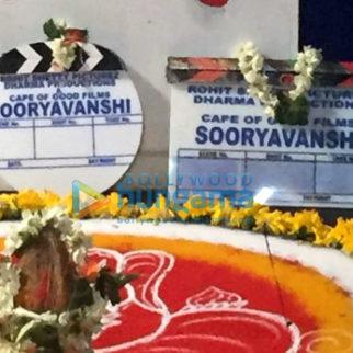 On The Sets Of The Movie Sooryavanshi