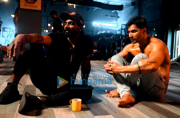 On The Sets from the movie Street Dancer 3D