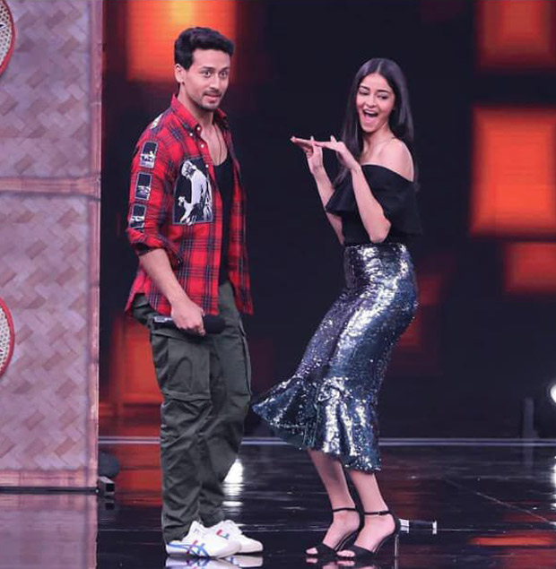 Ananya Panday and Tiger Shroff's bond is precious! Take a look at the pictures.