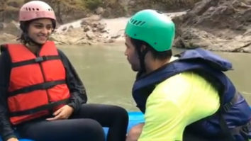 Student Of The Year 2: When Punit Malhotra pushed Ananya Panday while rafting in Rishikesh