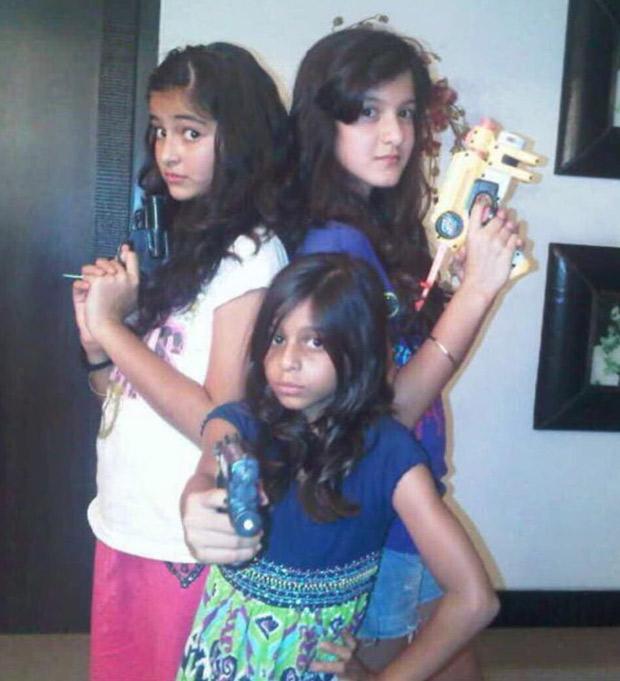 THROWBACK THURSDAY: Ananya Panday celebrates Suhana Khan's 19th birthday with throwback photo recreating Charlie's Angels iconic pose with Shanaya Kapoor