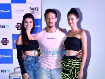 Tara Sutaria, Tiger Shroff and Ananya Pandey snapped at Cinepolis event