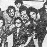 This throwback picture of Rishi Kapoor with Shammi Kapoor, RD Burman, Dev Anand and others has an interesting backstory