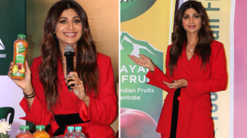 UNCUT Shilpa Shetty at launch of ITC's B-Natural fruit beverage