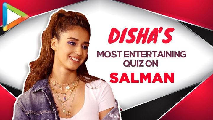 WOW Disha Patani's ROCKING Salman Khan Quiz Proves She's his BIGGEST FAN BHARAT
