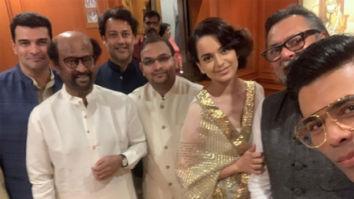 PM Narendra Modi Oath Ceremony: Kangana Ranaut, Rajinikanth, Karan Johar, Shahid Kapoor, Sushant Singh Rajput strike a pose