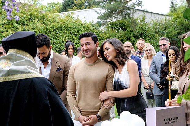 INSIDE PICS: Amy Jackson shares the first part of her ENGAGEMENT party photos with fiancé George Panayitou