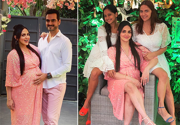 Esha Deol is thrilled to share photos of her 'enchanted forest' themed baby shower and it looked lovely!