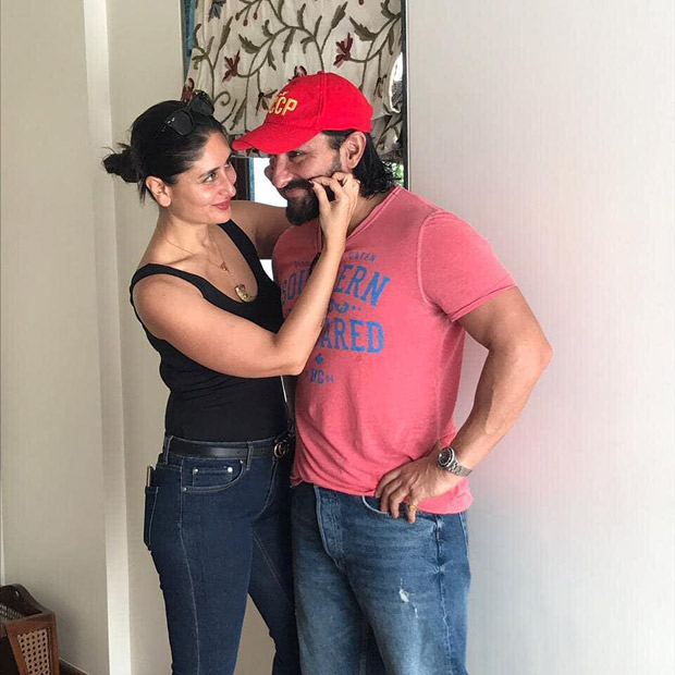 Kareena Kapoor Khan and Saif Ali Khan show us how smitten they are by each other in these PDA photos and we can't get over their romance!