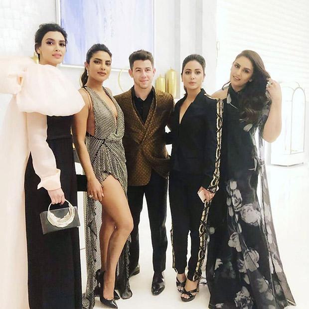 Cannes 2019: Hina Khan shares this lovely photo with Priyanka Chopra, 'jiju' Nick Jonas, Huma Qureshi and Diana Penty
