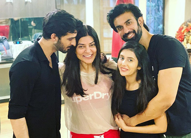 WOAH! Sushmita Sen expresses her excitement as she announces her brother, Rajeev Sen's engagement with TV actress Charu Asopa