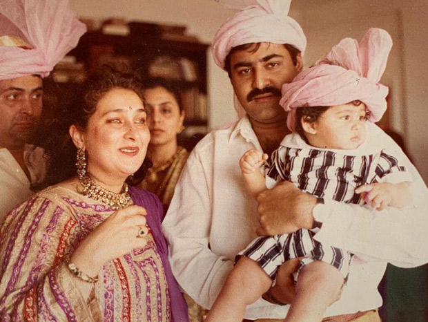 Throwback Thursday: Ranbir Kapoor's cousin Armaan Jain shares a childhood photo that gives us a glimpse of Rishi Kapoor and Neetu Kapoor from their younger days!